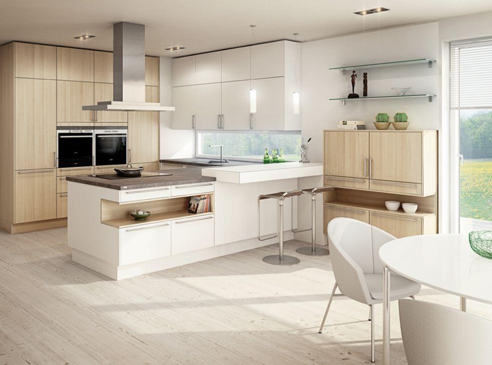Küche Kernesche / EWE Moderne küche, Küchen design