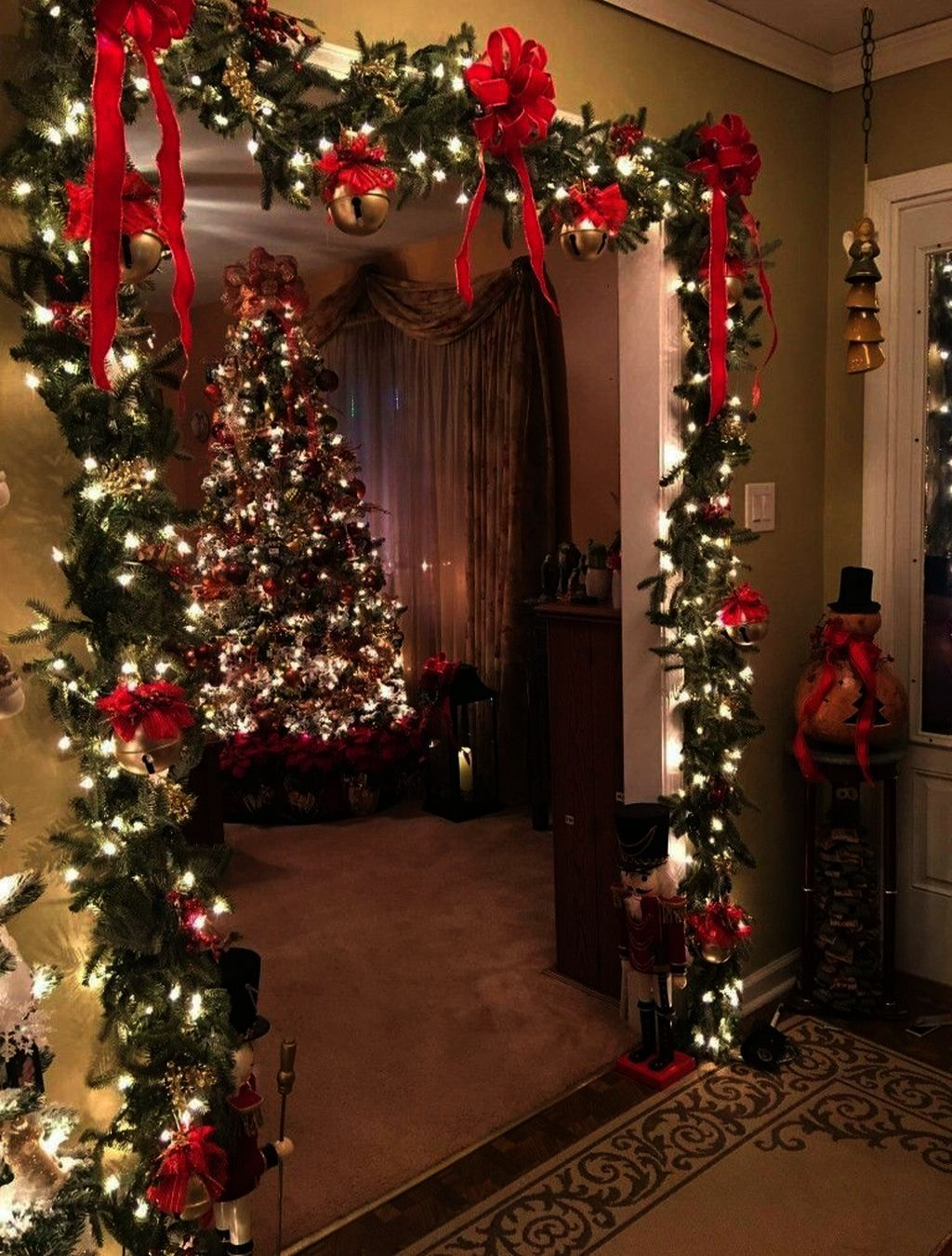 Christmas Decorations Walmart Tree Down Christmas Decorations Sale Clearance The Range Un Diy Christmas Decorations Easy Christmas Apartment Easy Christmas Diy
