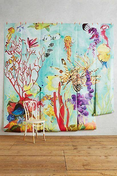 Anthropologie Oceana Mural Wallpaper268 for sale online