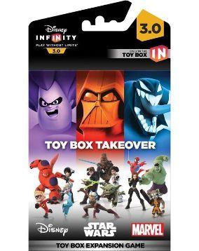 DISNEY INFINITY 3 - Toy Box Game Piece Takeover