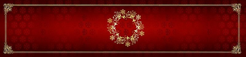 European Gold Frame On Red Background Pattern Obscure Background Patterns Gold Frame Red Background
