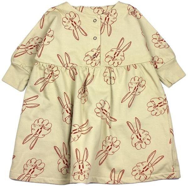 Fleece Dress Bunnies AO ($44) ❤ liked on Polyvore featuring bobo choses