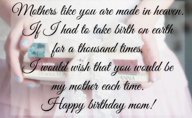 Happy Birthday Quotes For Mom | Happy Birthday Mom Quotes Wishes