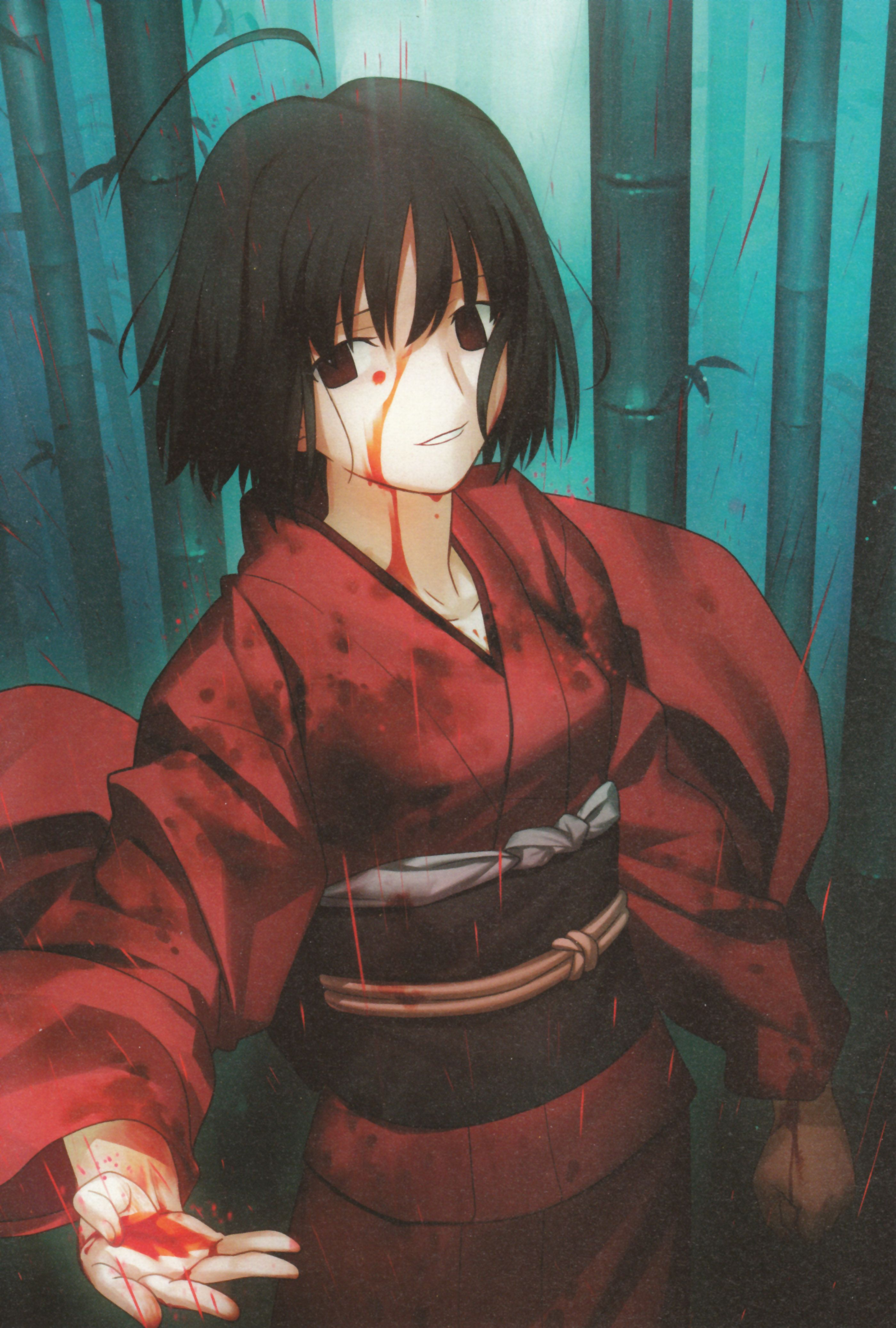 Pin by 翎 羊 on 空之境界 Shiki, Anime, Beautiful black hair