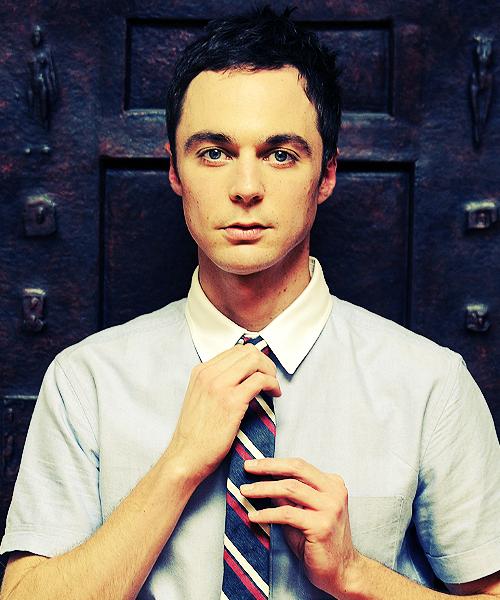 Sheldon Cooper aka Jim Parsons.
