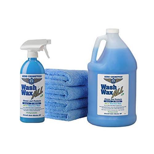 Wet Or Waterless Car Wash Wax Kit 144 Ounces Car Wash Wax Car