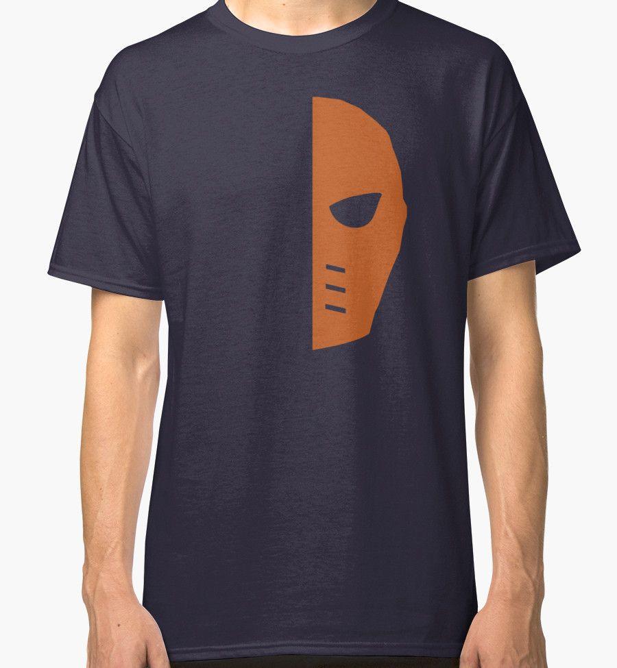 Arrow Deathstroke mask men's, Women's, and unisex Tshirt by Backup ...