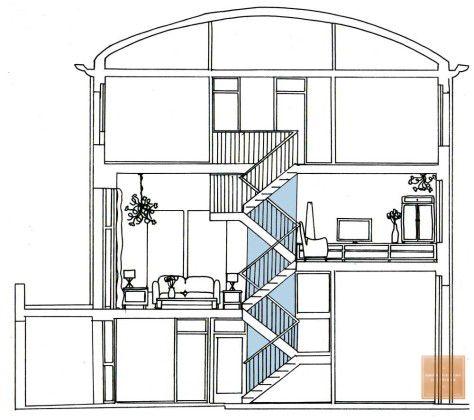 Tijd voor stoffering & kleur! Aan de hand van plattegronden, perspectieven en gedetailleerde collage van kleuren & materialen werd het stappenplan inzichtelijk.   Inmiddels zijn naast de woonkamers ook de slaapkamer, woonkeuken, entree en het trappenhuis reeds gerealiseerd.