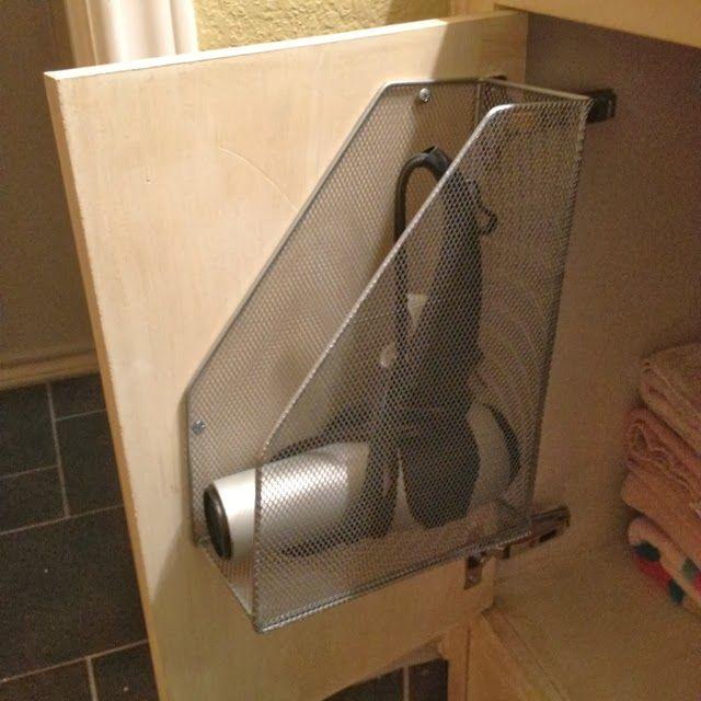 Best 25 Hair Dryer Holder Ideas On Pinterest Hair Dryer Storage Diy Hair Dryer Holder And