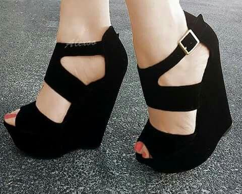 zapatos de separación 15903 d9dac Plataformas negras hermosos | SHOES. OMG. | Zapatos, Zapatos ...