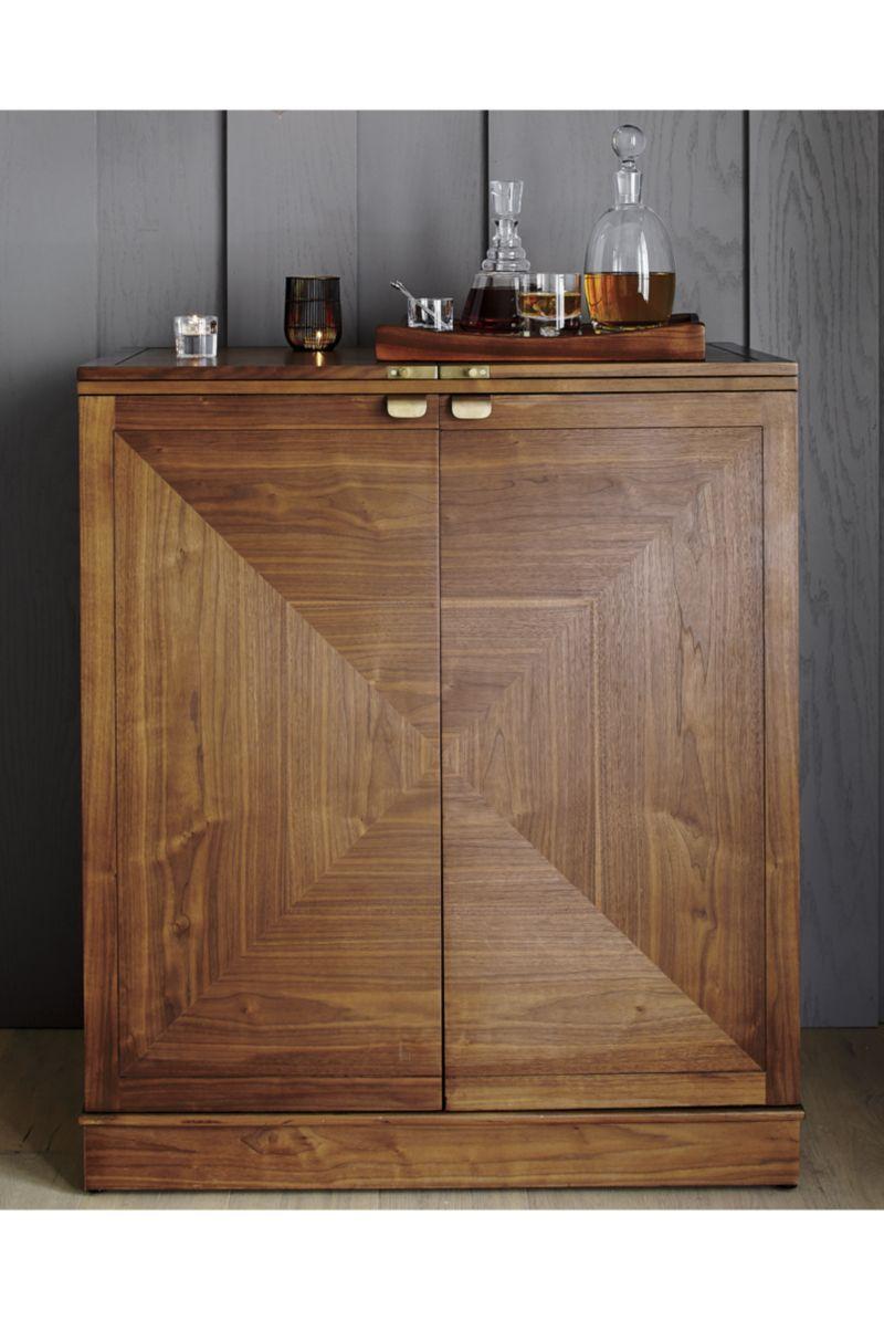 Maxine Bar Cabinet |  | Pinterest | Crates ...