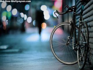 Download Bicycle On Footpath 3d Amp Digital Art Hd Desktop