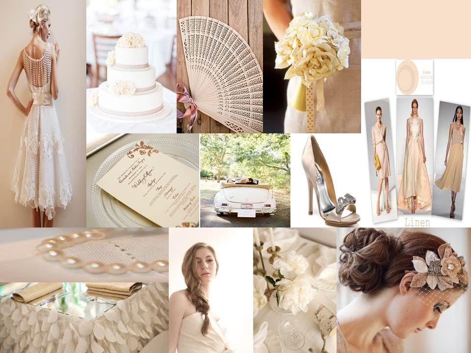 "Feel the softness in Linen 2013. A ""Blissful Celebrations"" Inspiration Board  469-442-0155  www.BlissfulCelebrations.com"