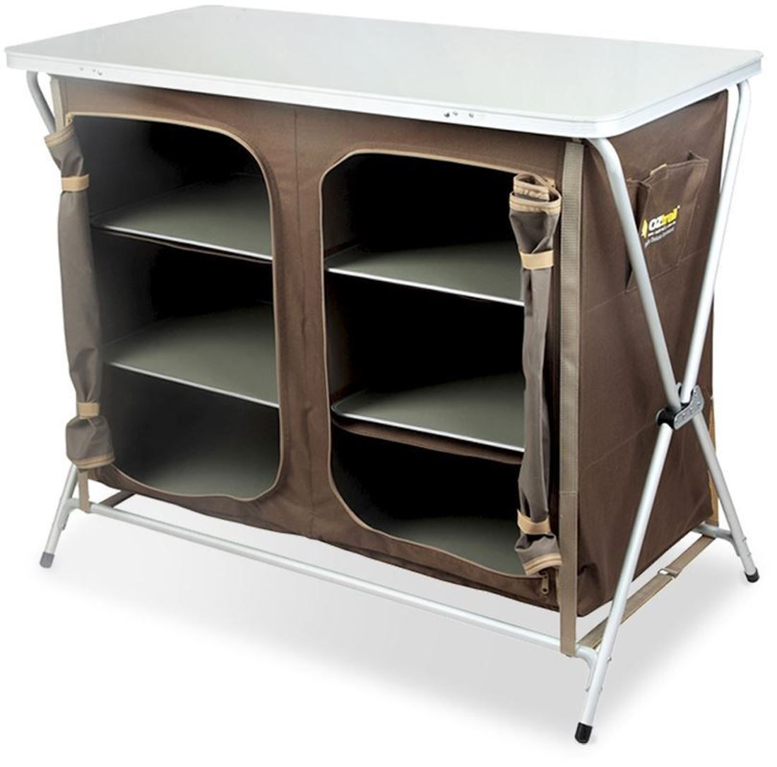 3 Shelf Deluxe Double Cupboard Collapsible Shelves Shelves Cupboard