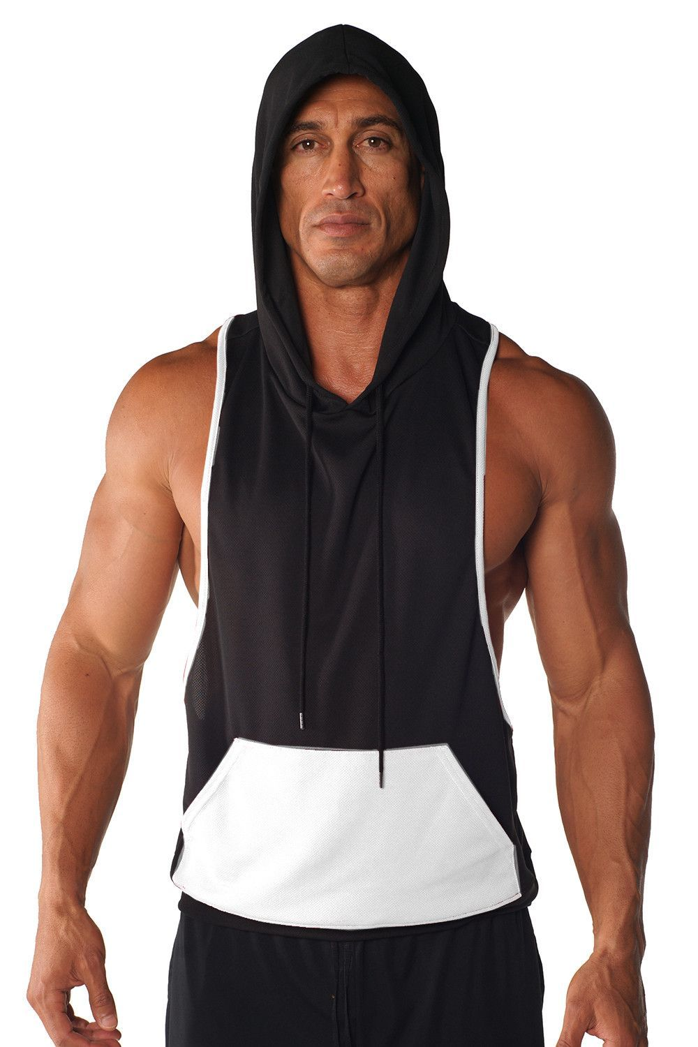 e7276a807 SKU M532 This light-weight, sleeveless hoodie is made from DRI-FIT fabric  that… Be featured in Model Citizen App, Magazine and Blog.  www.modelcitizenapp.com