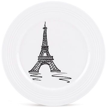 foto de Tin Can Alley® Paris Accent Plate by Lenox Tin can alley Tin can
