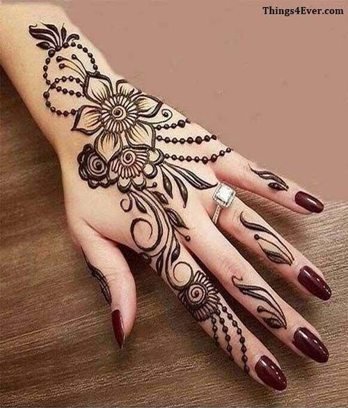 Pin On Butterfly Mehndi Designs