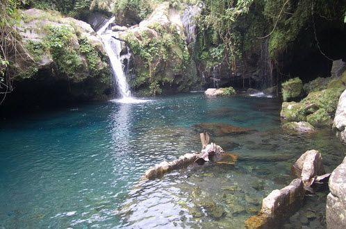 Tempat Wisata Purwokerto Curug Gede Mata Air Kalibacin Pancuran Pitu Telaga Sunyi