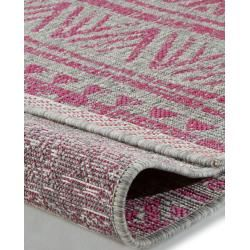 Photo of benuta indoor & outdoor rug Cleo Pink 120×170 cm – for balcony, terrace & garden benuta