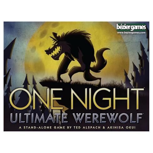 One Night Ultimate Werewolf Game Werewolf games, First
