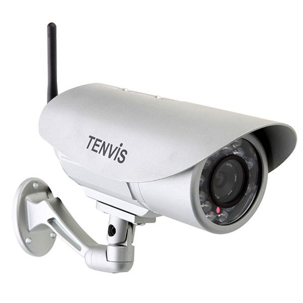 Take this high quality TENVIS IP602W Outdoor Waterproof 30LEDs Night Vision IP Camera as your security assistant. It is widely used outdoor, supermarket, warehouse monitoring, traffic monitoring and many other scenarios. With its powerful waterproof, night vision far distance monitoring, you can convenient to view the daily situation on your iPhone or other smartphones. Price US$75.31