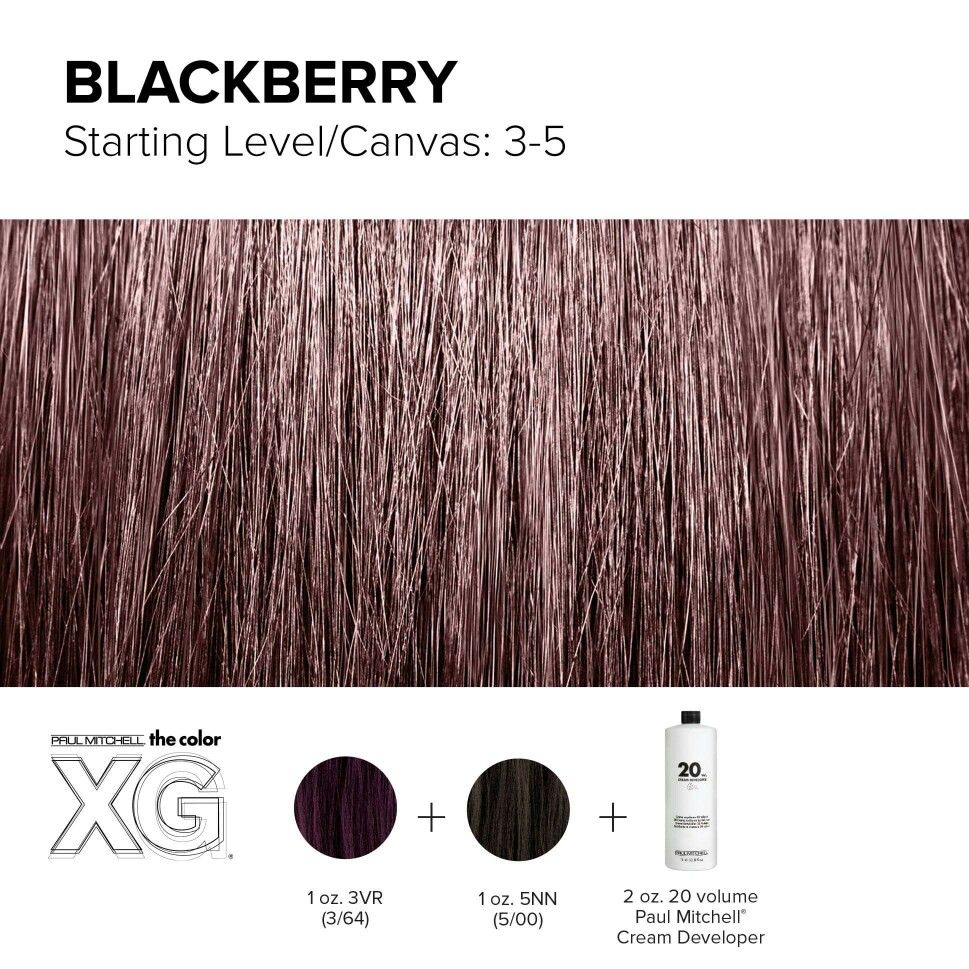 Color XG formula created by Paul Mitchell | Hair Color | Pinterest ...