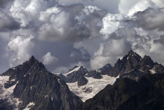 Cloudy mountains. Caucasus Mountains. #AD, #Advertisement, #Sponsored, #mountains, #Caucasus, #Mountains, #Cloudy