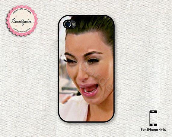 purchase cheap 76fd5 726fa Kim Kardashian Cry Ugly Face iPhone Case!! LOL!!   Funny stuffs ...