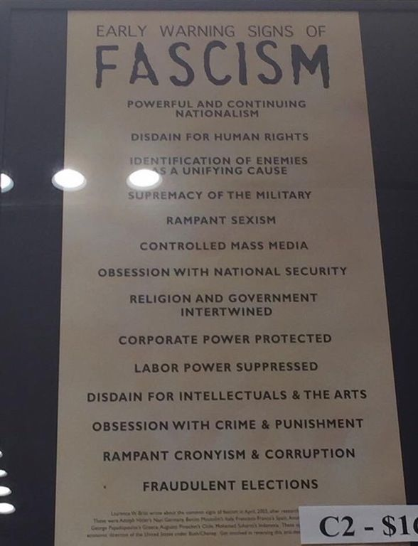 Holocaust Museum: 'Early Warning Signs of Fascism' - Pics - Dizkover
