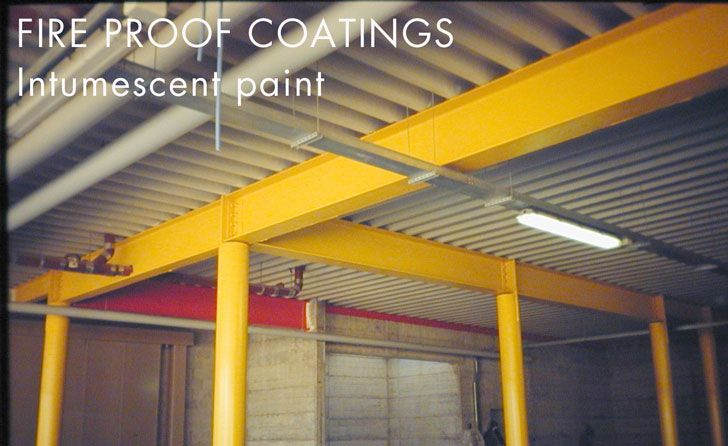 Fireproof Paint Intumescent Industrial Paintings Painting Projects Painting