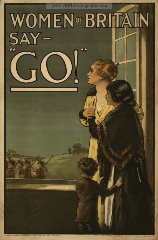 Go To Ww Bing Comworld: Examples Of Propaganda From WW1
