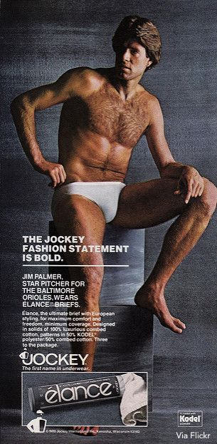 f56eb6e79 Jim Palmer  How He Became Iconic Jockey Underwear Model. Jim Palmer  How He  Became Iconic Jockey Underwear Model Retro Ads ...