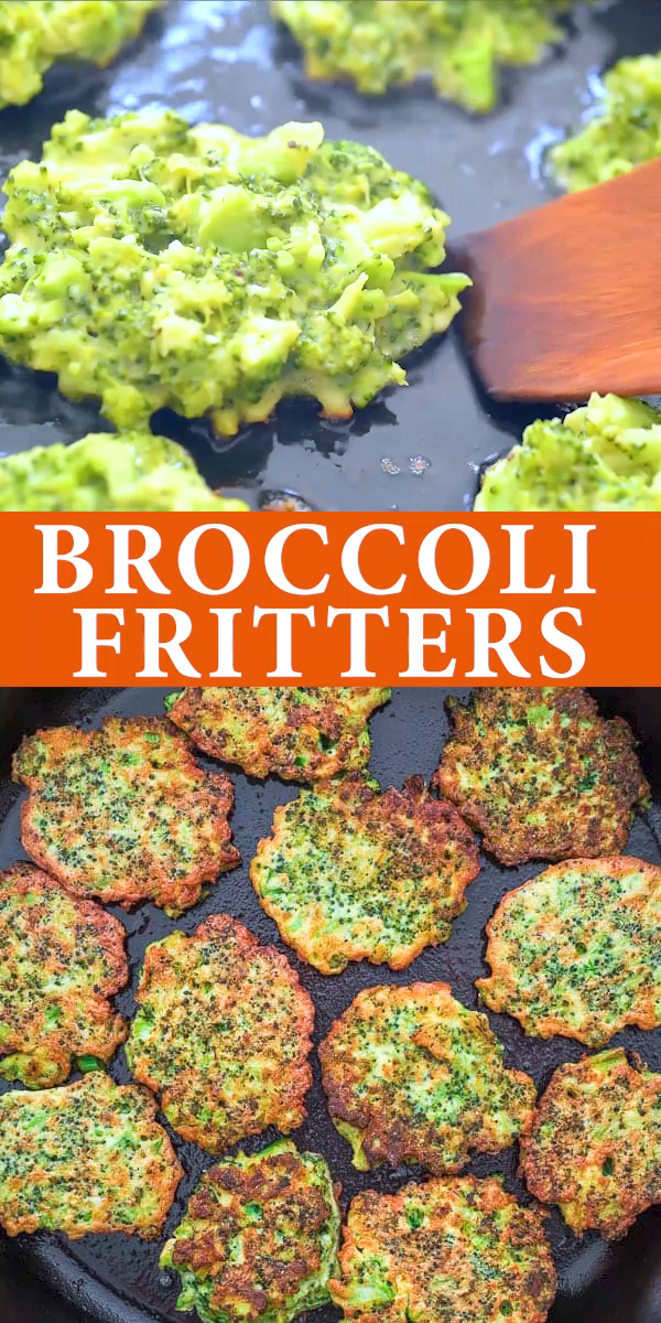 Broccoli Fritters #foodsides