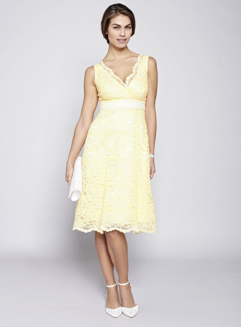 Yellow bella lace short bridesmaid dress wedding pinterest wedding