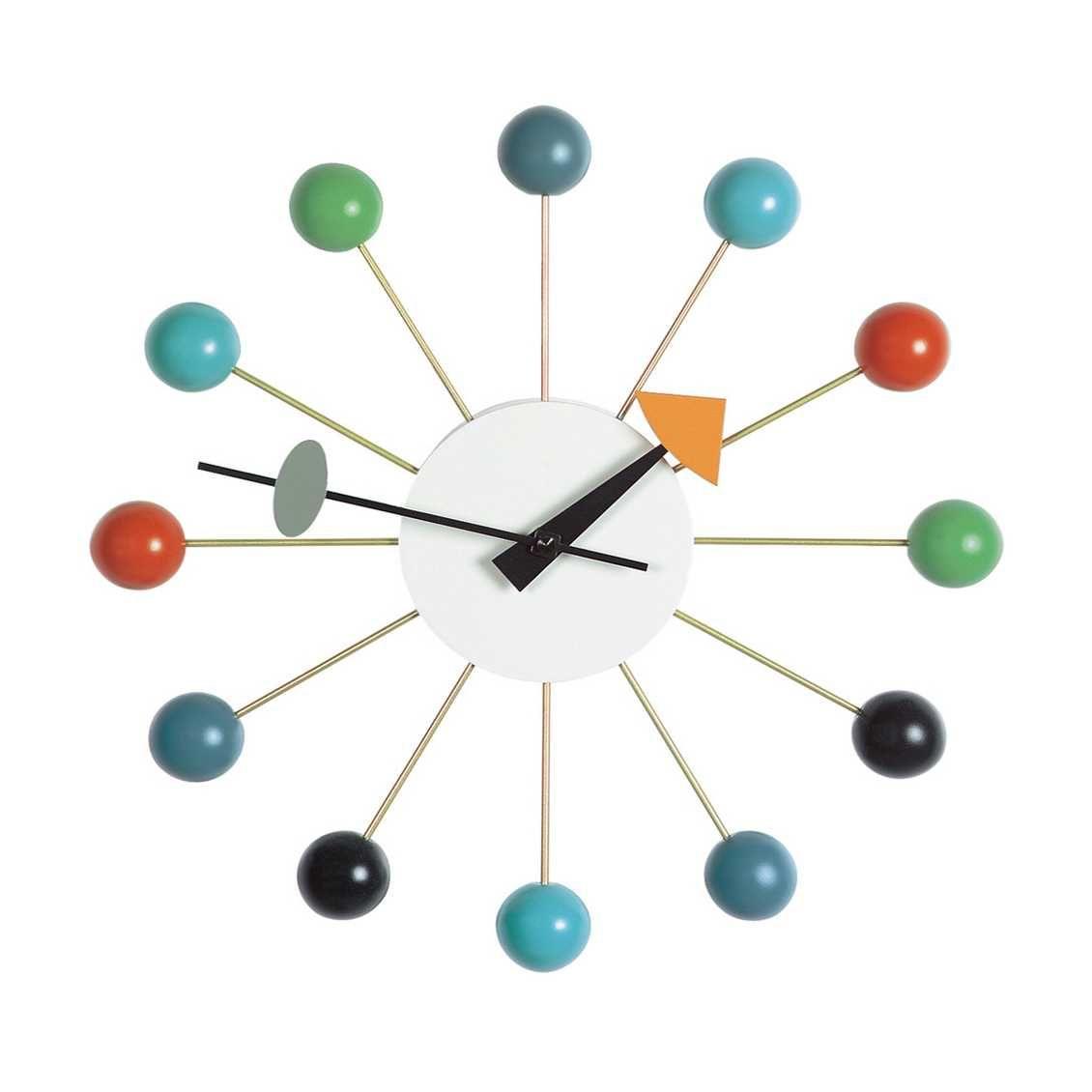 Vitra Ball Clock Klok Misterdesign Klok George Nelson Retro Klok