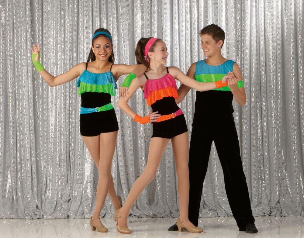 hot pink acro dance kostume