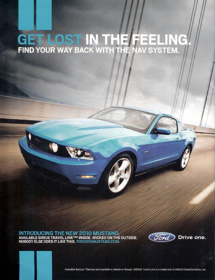 manual ford mustang 2010
