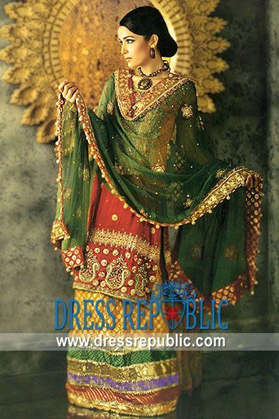 68365d1fa ... Product code: DR6887, by www.dressrepublic.com - Keywords: Mehndi Dress  Lahore, Punjabi Mehndi Dresses, Panjabi Bridal Mehndi Dresses Online Store