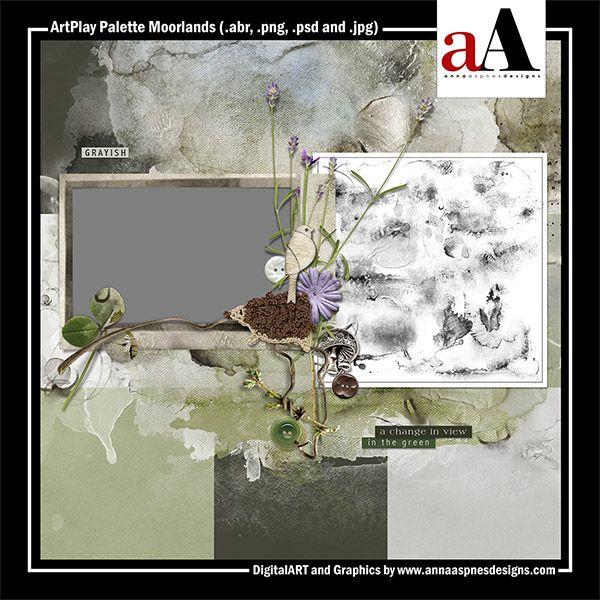 ArtPlay Palette Moorlands Released 03 March 2017 by #annaaspnes of #aA designs #annaaspnes #digitalart #digitalartist #digitalartistry #digitalcollage #collage #digitalphotography #photocollage #art #design #artjournaling #digital #digital #scrapbooking #digitalscrapbooking #scrapbook #modernart #memorykeeping #photoshop #photoshopelements