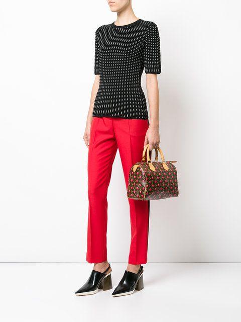 04ca165e1f3c Louis Vuitton Vintage Speedy 25 cherry monogram bag