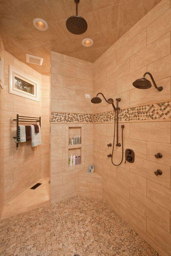 27 Walk in Shower Tile Ideas That Will Inspire You Bath, Wet rooms