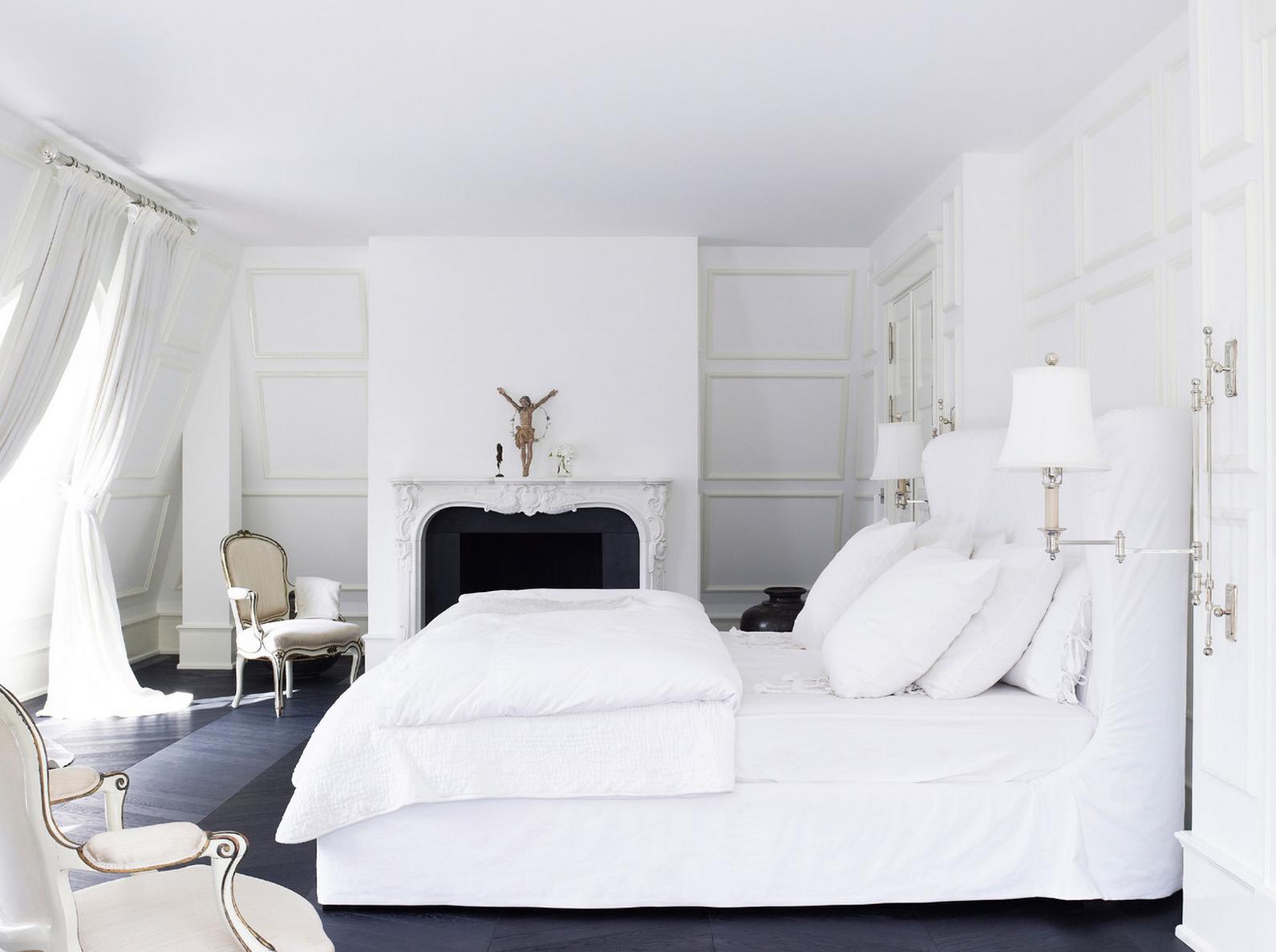 Wonderful 41 White Bedroom Interior Design Ideas U0026 Pictures