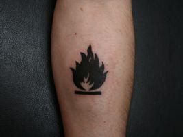 Massive Attack II tattoo by Mysza2