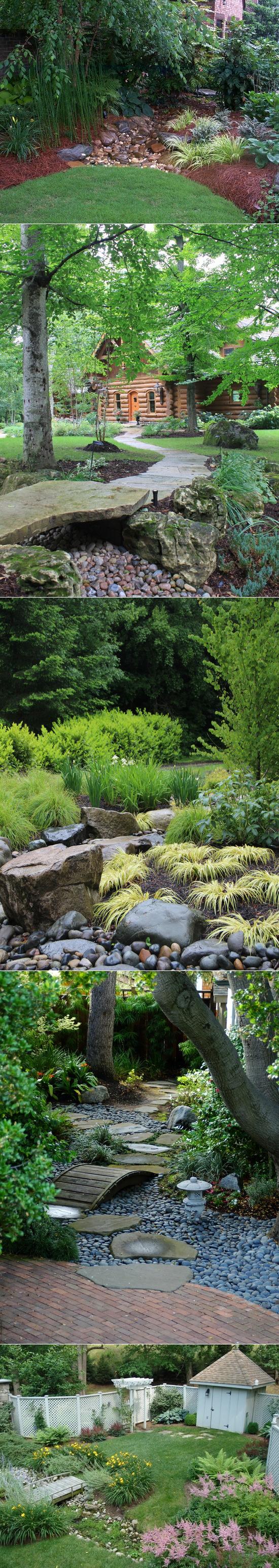 ДОМ   Планировка сада, Отдых на заднем дворе и Японский сад