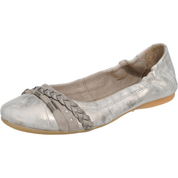 JOLANA FENENA Ballerinas silbergrau #schuhe #fashion #shoes
