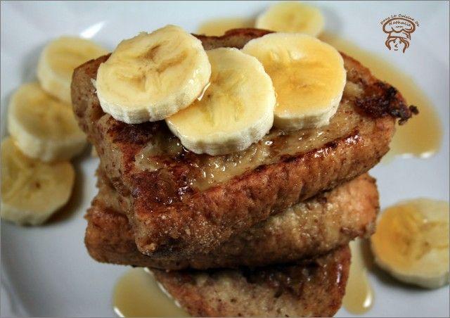 Pain Perdu A La Banane Et Cannelle Nutrition Pinterest