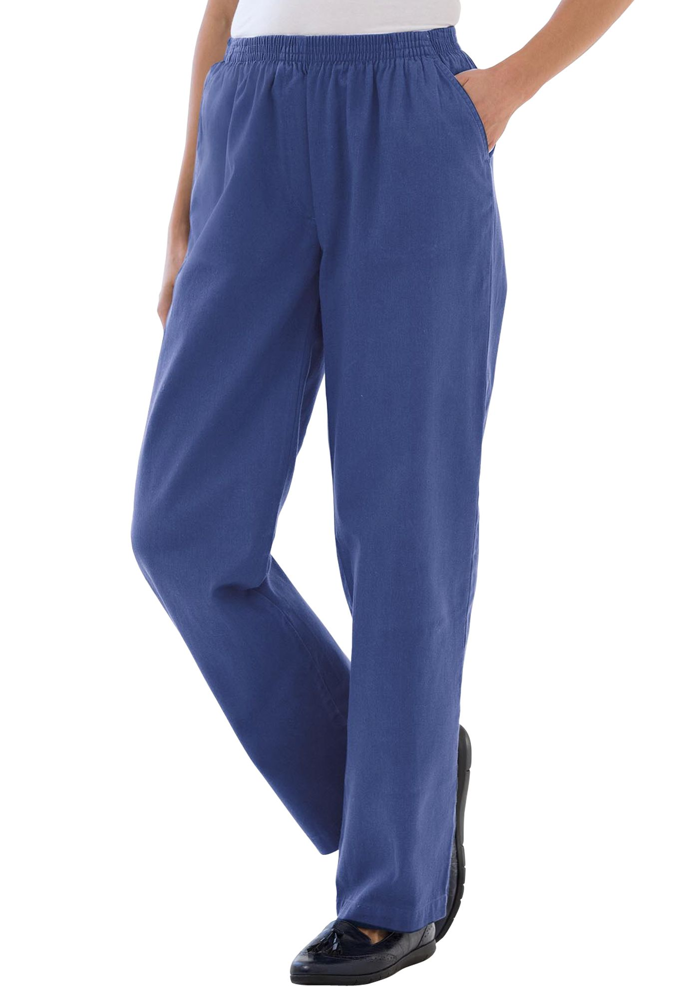 0a47026cd4366 Pants in soft twill