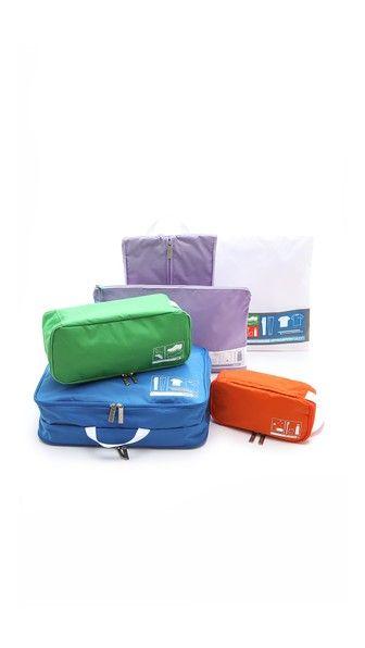 Flight 001 Womens SpacePak Travel Bag Set