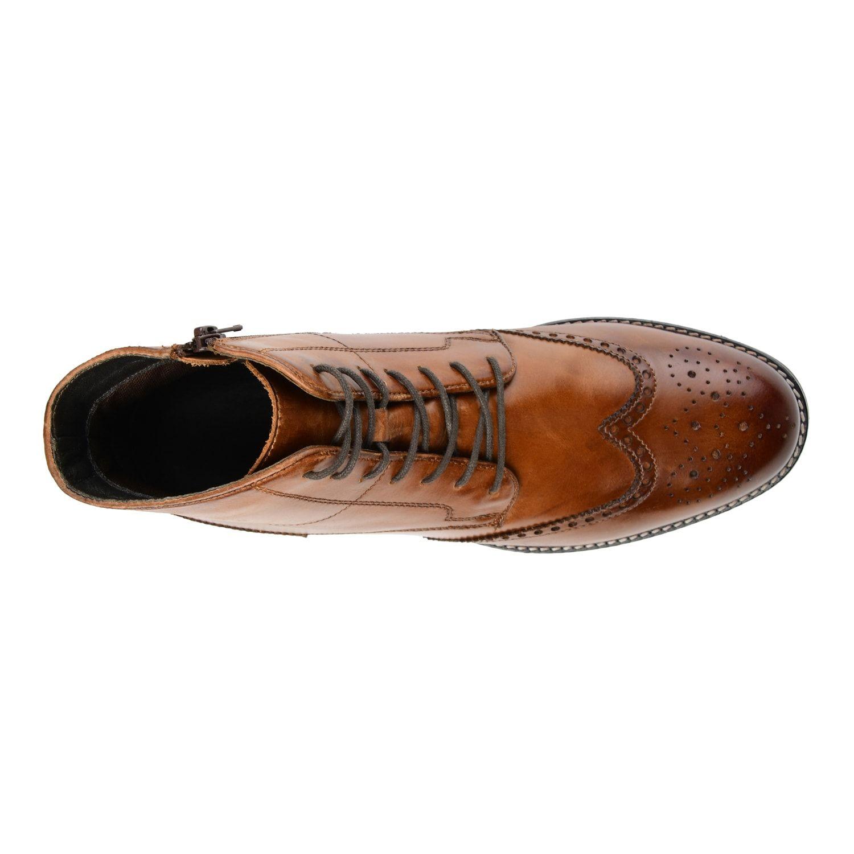 48e10387db2 Thomas & Vine Ryker Men's Wingtip Ankle Boots #Ryker, #Vine, #Thomas ...