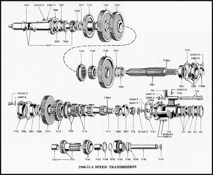 Pin by Keith on transmission parts | Ford tractors, Ford
